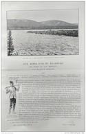 1899 MINES D'OR DU KLONDYKE - DE PARIS AU LAC BENNETT - FORTY MILE CITY - PEPITES DU KLONDYKE - CONVOI DE MINEURS - Kranten