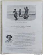 1898 CHEZ LES INDIENS DU NORD DE LA COLOMBIE Par Le Comte Joseph DE BRETTES  - GOAGIRE - TIR À L'ARC - 1850 - 1899