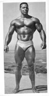 PHOTO HOMME EN MAILLOT DE BAIN CULTURISME CULTURISTE   27 X 13.50 CM - Sports