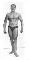 PHOTO HOMME EN MAILLOT DE BAIN CULTURISME CULTURISTE  30 X 14 CM - Sport