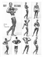 PHOTO HOMME EN MAILLOT DE BAIN CULTURISME CULTURISTE   GUY VILTARD PHOTOS DEMEILLES 28 X 21 CM - Sports