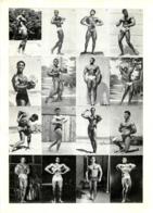 PHOTO HOMME EN MAILLOT DE BAIN CULTURISME CULTURISTE   29 X 21 CM - Sport