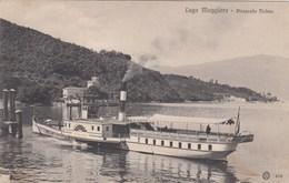 LAGO MAGGIORE-VERBANO CUSIO OSSOLA-PIROSCAFO =TICINO=-CARTOLINA VIAGGIATA IL 29-12-1909 - Verbania