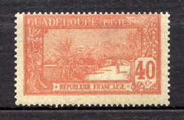 GUADELOUPE - 65(*) - LA GRANDE SOUFRIERE - Guadalupe (1884-1947)