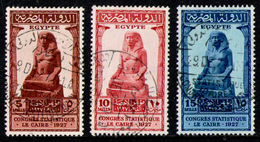 EGYPT 1927 - Complete Set Used - Egypt