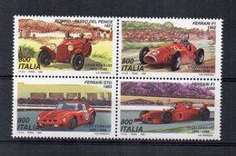 ITALIA - 1991 - Quartina - Automobilismo - Milano - Giornata Della Ferrari - Nuova **- (FDC14822) - 1991-00:  Nuovi