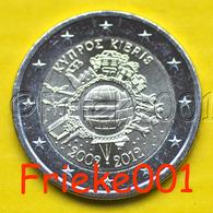 Cyprus - Chypre - 2 Euro 2012 Comm.(10 Jaar Euro Cash) - Cyprus