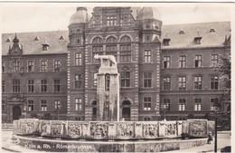 KOLN A RH. ROMERBRUNNEN. STENGEL. ECHTE PHOTO. CPA CIRCA 1950s - BLEUP - Koeln