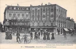 93 - VILLEMOMBLE  - Rond Point Et Boulevard Carnot . - Villemomble