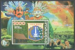 Indonesia, 2010, Pameran, Nasional, Souvenir Sheet, MNH - Indonesia