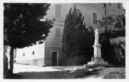 06 - Berre-les-Alpes - La Mairie - Le Monument Aux Morts - France