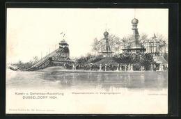 AK Düsseldorf, Kunst- Und Gartenbauausstellung 1904, Wasserrutschbahn Im Vergnügungspark - Expositions