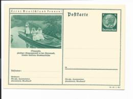 DR P 233-49-B3 **  -  6 Pf HindenburgMed.  Grün,  Bild :  Neuzauche, Spreewald - Deutschland