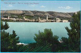 ARBE Dall Ovest - RAB Sa Zapada ( Von Western ) * Croatia * Travelled 1913.* Quarnero Istria Kroatien Croazia - Croatia
