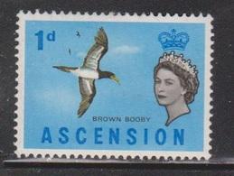 ASCENSION Scott # 75 MH - Bird - Brown Booby - Ascension