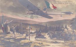 CPI GUERRE 1914 - 1918 Suprématie Aérienne Française - Avion Aviation Au Secours De L'Alsace Lorraine - Guerre 1914-18