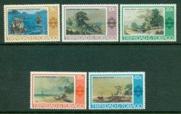 TRINIDAD & TOBAGO 1976 Mi 345-49** Landscape Paintings [A942] - Art