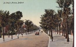 DE PARY'S AVENUE, BEDFORD. VALENTINE'S SERIES. CPA CIRCA 1910s - BLEUP - Bedford