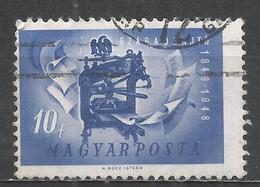 Hungary 1948. Scott #830 (U) 1848 Printing Press * - Oblitérés