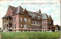 New Hampshire Concord Margaret Pillsbury Hospital 1909 - Concord