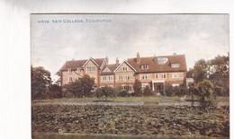 NEW COLLEGE, EDDINGTON. P Co. CPA CIRCA 1910s - BLEUP - Angleterre