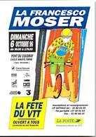 AMAYE/ORNE Pont Du Coudray **La Francesco MOSER**Ocrtobre 1996 La Fête Du VTT Avec LA POSTE CPSM NEUVE - Autres Communes