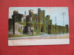 Lackawana County Jail Scranton Pa.    > Ref 3254 - Prison