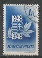 Hungary 1948. Scott #836 (U) Arms Of Hungary * - Oblitérés