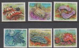 Fiji SG 878-883 1993 Nudibranch, Mint Never Hinged - Fiji (1970-...)