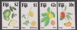 Fiji SG 884-887 1993 Tropical Fruits, Mint Never Hinged - Fiji (1970-...)