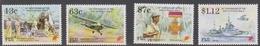 Fiji SG 907-910 1995 50th Anniversary End WW II, Mint Never Hinged - Fiji (1970-...)