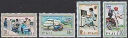 Fiji SG 956-959 1996 Inauguration Independent Postal And Telecommunications Companies, Mint Never Hinged - Fiji (1970-...)