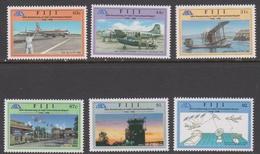 Fiji SG 965-970 1996 50th Anniversary Of Nadi International Airport, Mint Never Hinged - Fiji (1970-...)