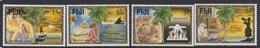 Fiji SG 971-974 1996 Christmas, Mint Never Hinged - Fiji (1970-...)