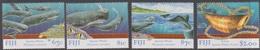 Fiji SG 1021-1024 1998 Sperm Whale, Mint Never Hinged - Fiji (1970-...)