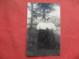 RPPC  2 Female    Ref 3256 - Postcards
