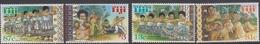 Fiji SG 1040-1043 1999 Fijian Dance, Mint Never Hinged - Fiji (1970-...)