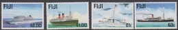 Fiji SG 1044-1047 1999 Maritime History Part II, Mint Never Hinged - Fiji (1970-...)