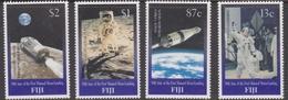 Fiji SG 1054-1057 1999 Moonlanding 30th Anniversary, Mint Never Hinged - Fiji (1970-...)