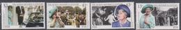 Fiji SG 1059-1062 1999 Queen Mother Century, Mint Never Hinged - Fiji (1970-...)
