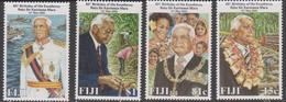 Fiji SG 1093-1096 2000 President 80th Birthday, Mint Never Hinged - Fiji (1970-...)