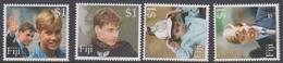 Fiji SG 1097-1100 2000 Prince William 18th Birthday, Mint Never Hinged - Fiji (1970-...)