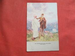 The Parting Of Elijah & Elisha   Ref 3256 - Glaube, Religion, Kirche