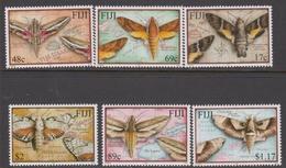 Fiji SG 1116-1121 2001 Moths, Mint Never Hinged - Fiji (1970-...)