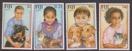 Fiji SG 1123-1126 2001 SPCA, Mint Never Hinged - Fiji (1970-...)
