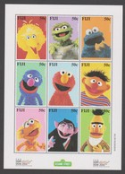 Fiji SG 1083-1091 2000 SEsame Street Sheetlet,mint Never Hinged - Fiji (1970-...)