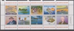 Fiji SG 1272-1282 2005 The Route To Victory Sheetletmint Never Hinged - Fiji (1970-...)