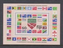 Fiji SG MS 623 1981 Parliamentary Conference ,Miniature Sheet - Fiji (1970-...)