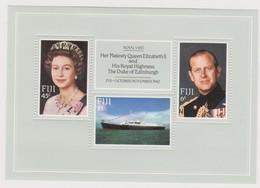 Fiji SG MS 646 1982 Royal Visit ,Miniature Sheet,mint Never Hinged - Fiji (1970-...)
