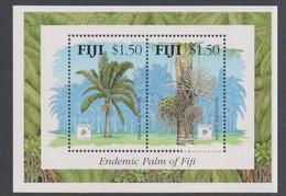 Fiji SG MS 899 1994 Endemic Palm,Singpex ,Miniature Sheet,mint Never Hinged - Fiji (1970-...)